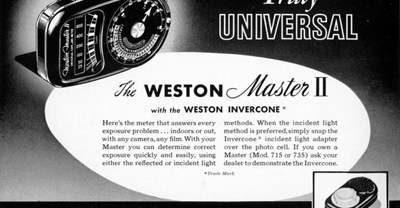 The Weston Master II with the Weston Invercone