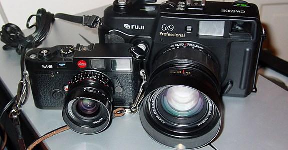 Leica M6 vs Fuji GW690III