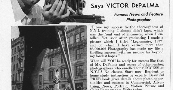 """This One Picture Alone Paid Me $3,000.00"" - 1943 Advertisement"