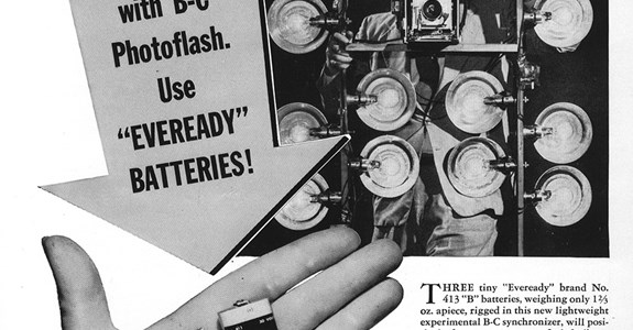 Eveready Batteries - 1950