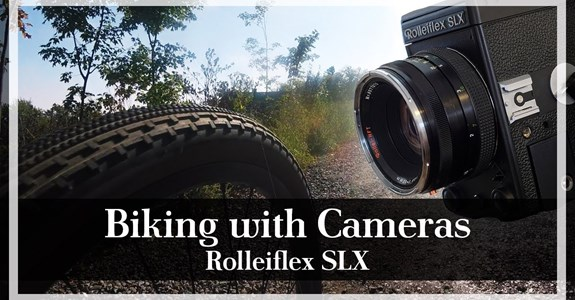 Biking With Cameras: Rolleiflex SLX