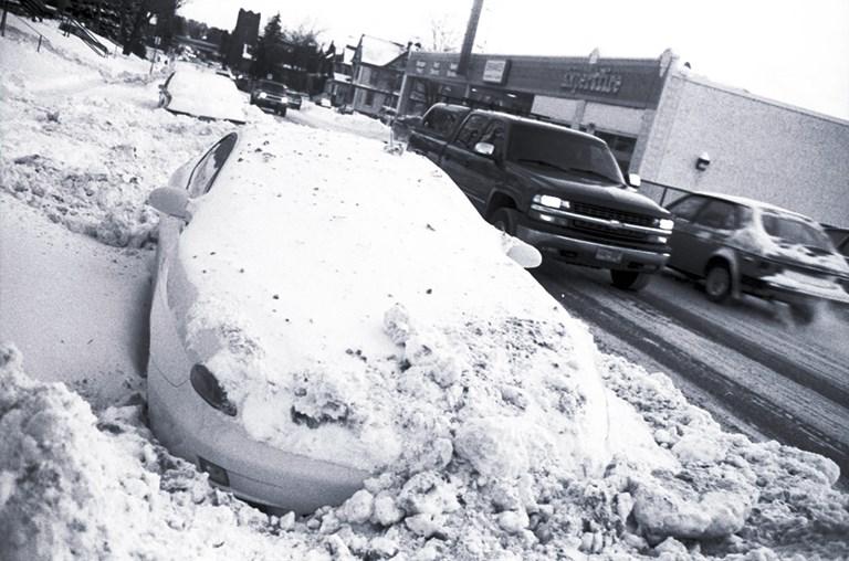 Buried Car
