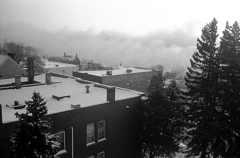 Lake Superior Steam Wall