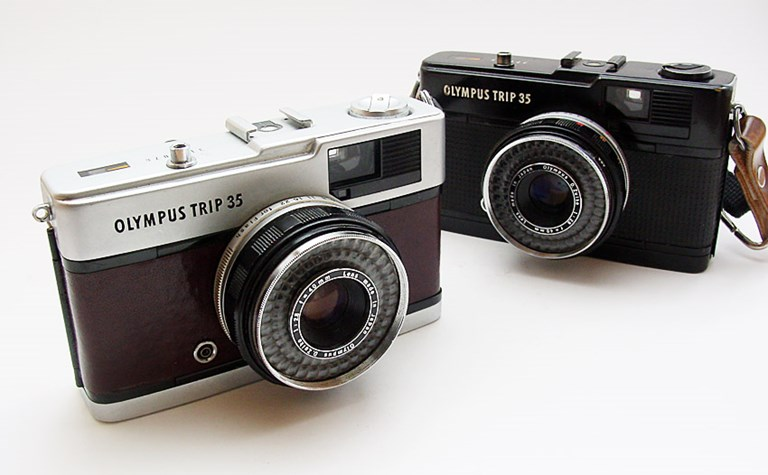 Two Olympus Trip 35s