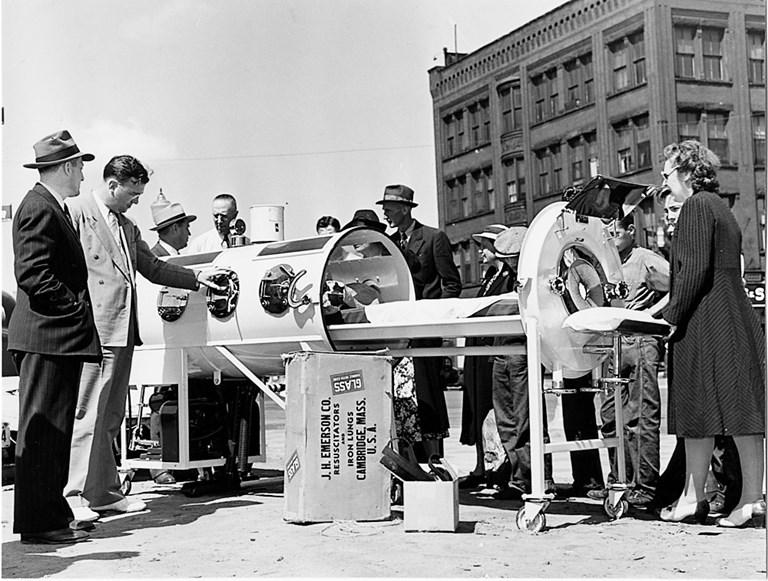 An Iron Lung Demonstration