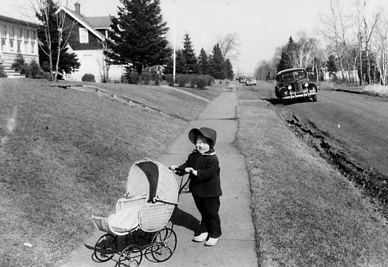 Child with Carriage