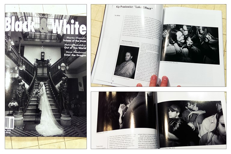 K. Praslowicz in Black & White Magazine