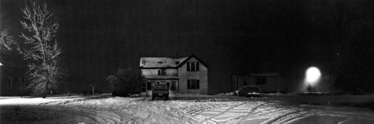 House near Worthington, MN - Photograph by Chris Faust