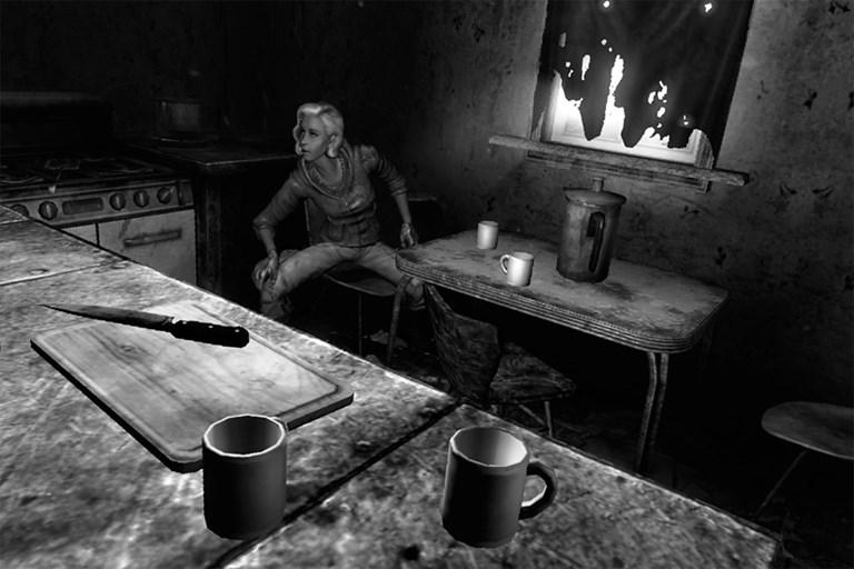 Fallout 3: Kitchen Scene