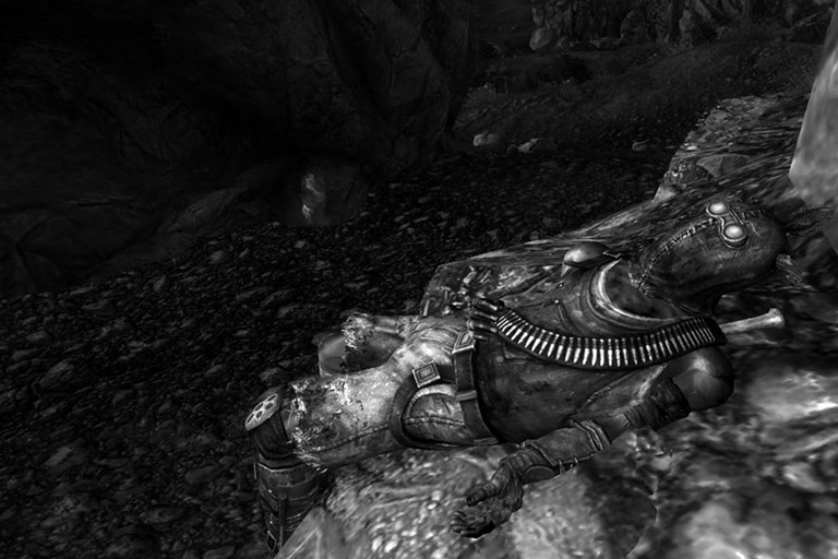 Fallout 3: The Raider on The Rock