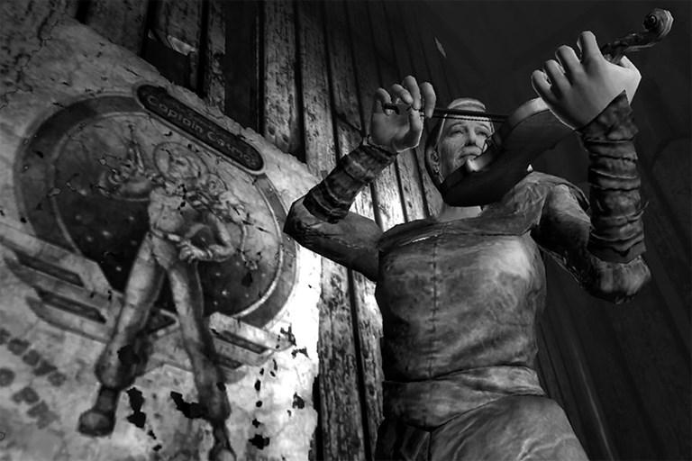 Fallout 3: Agatha playing a violin