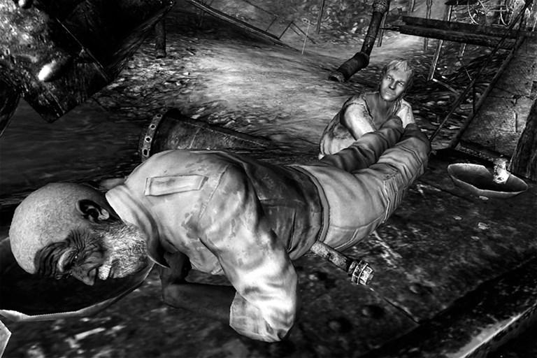 Walter fell down