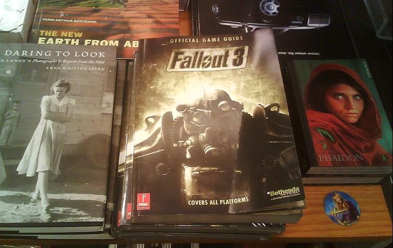 Fallout 3 Amongst Art Books