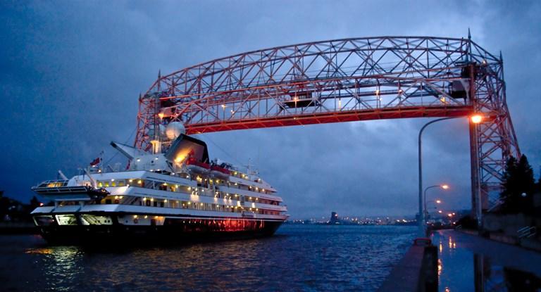 Ethan Russom - Cruise Ship + Bridge