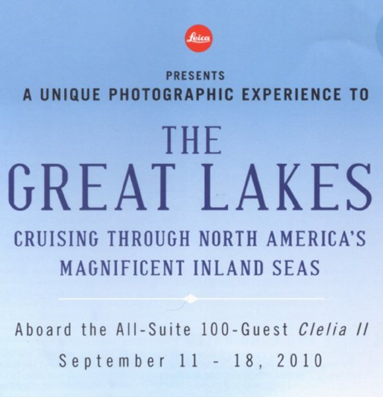 Leica Great Lakes Tour