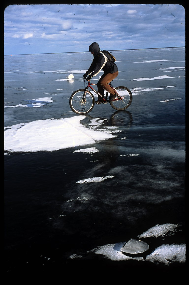Biking on Ice