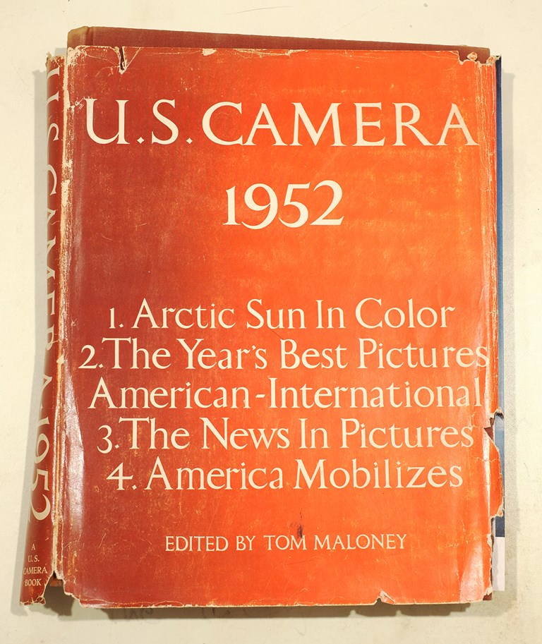 US Camera Annual - 1952 Cover