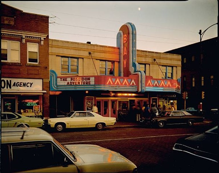 Stephen Shore - Second Street, Ashland, Wisconsin, July 9, 1973