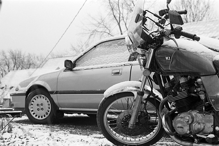 Winter Motorcycle, 2007