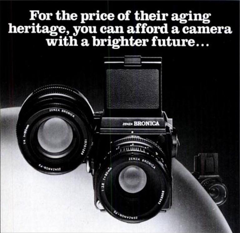 Bronica SQ Ad - 1989