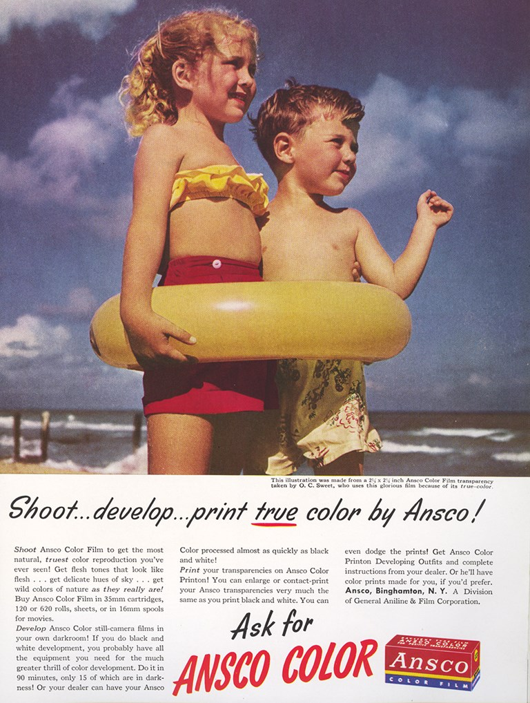 Ansco Color Film Advertisment