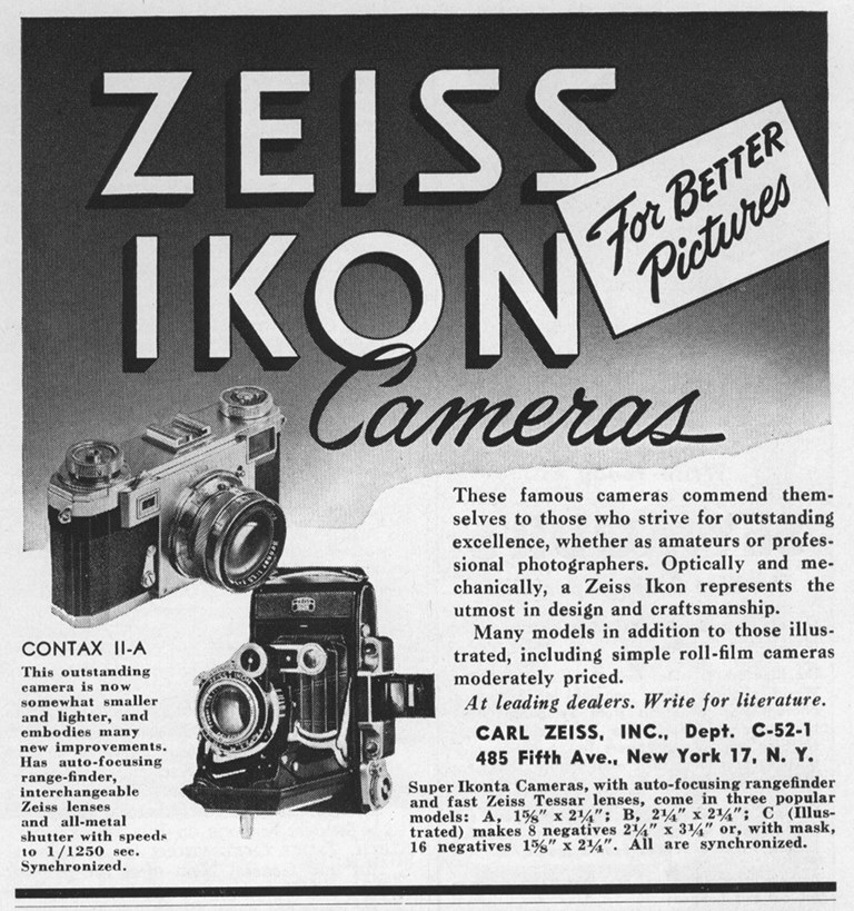 Zeiss Ikon Ad 1952