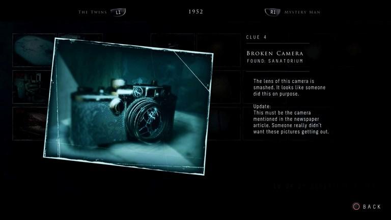 Leica III in Until Dawn