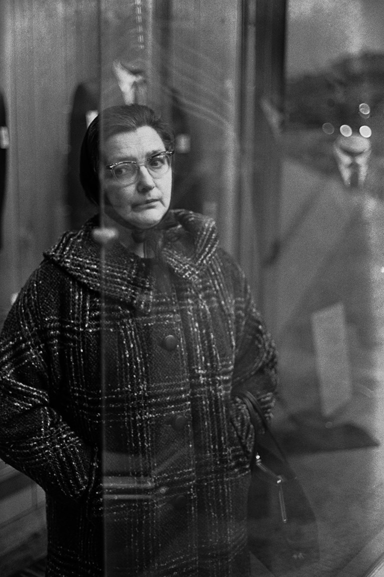Woman in Window, Duluth, 1968