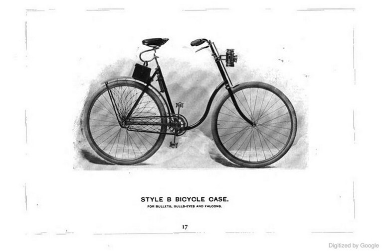 Kodak Style B Bicycle Case - 1897