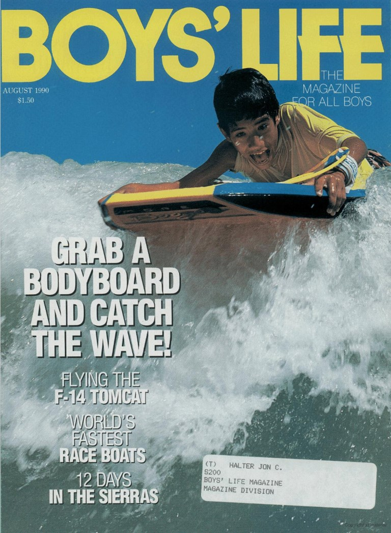 Boys Life - August 1990 Cover