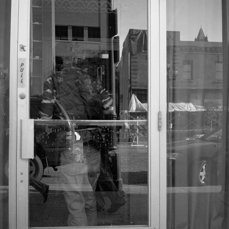 Door Reflections, 2009