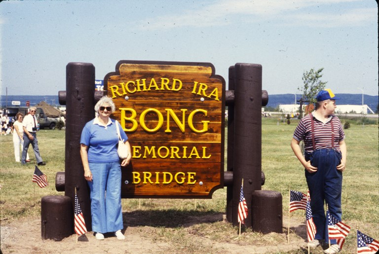 Bong Bridge Sign - July 1985