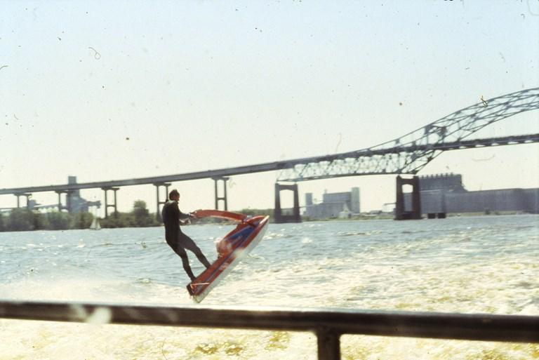 Jumping Jet Ski - September 1985
