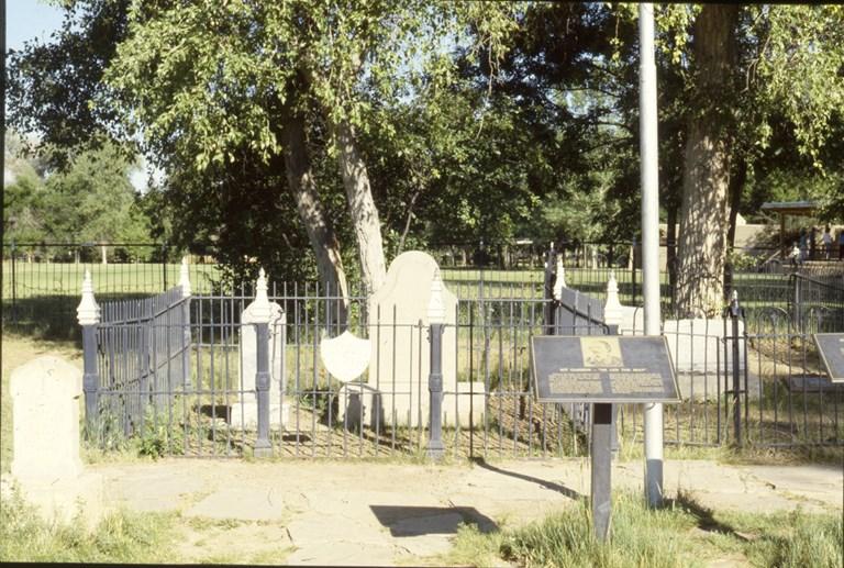 Kit Carson's Grave - 1987