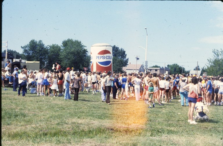 Giant Pepsi Can - July 1985