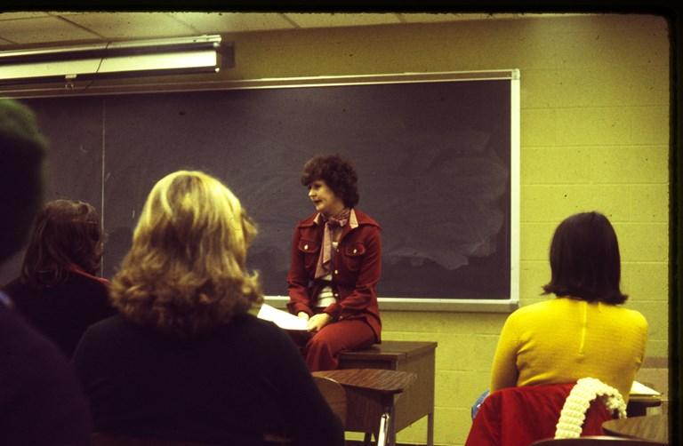 Polly Miller - February 1976