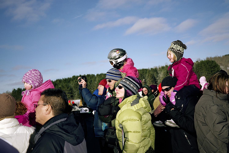 The Child in a SpongeBob Helmet, January 2011