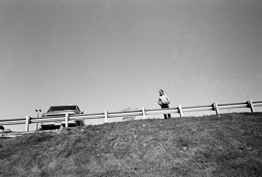 Man at a Railing
