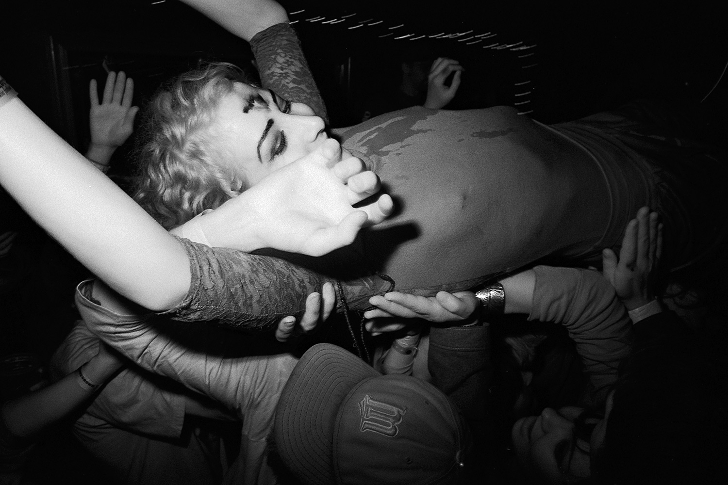 Crowd Surfing, May 2014