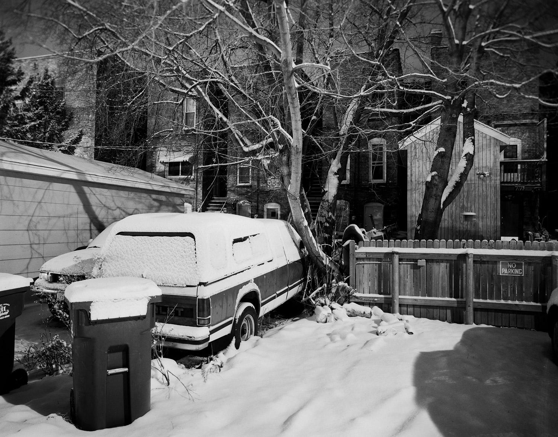 Alleyway Behind East 2nd Street, Duluth, Minnesota, March 2011