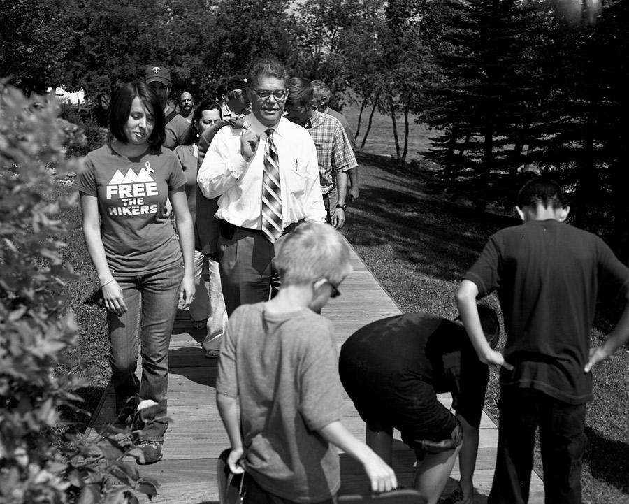 Al Franken and Some Kids