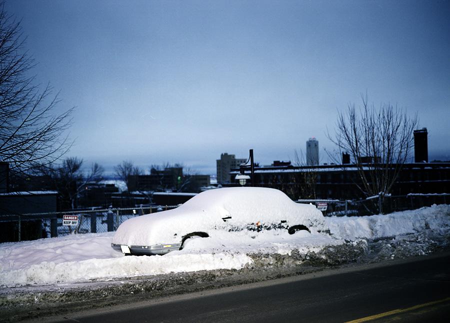 A Buried Car, Duluth, Minnesota, December 2010