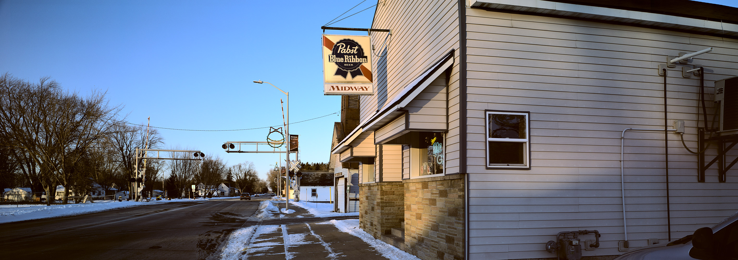 Midway Bar, Withee, Wisconsin, December 2017
