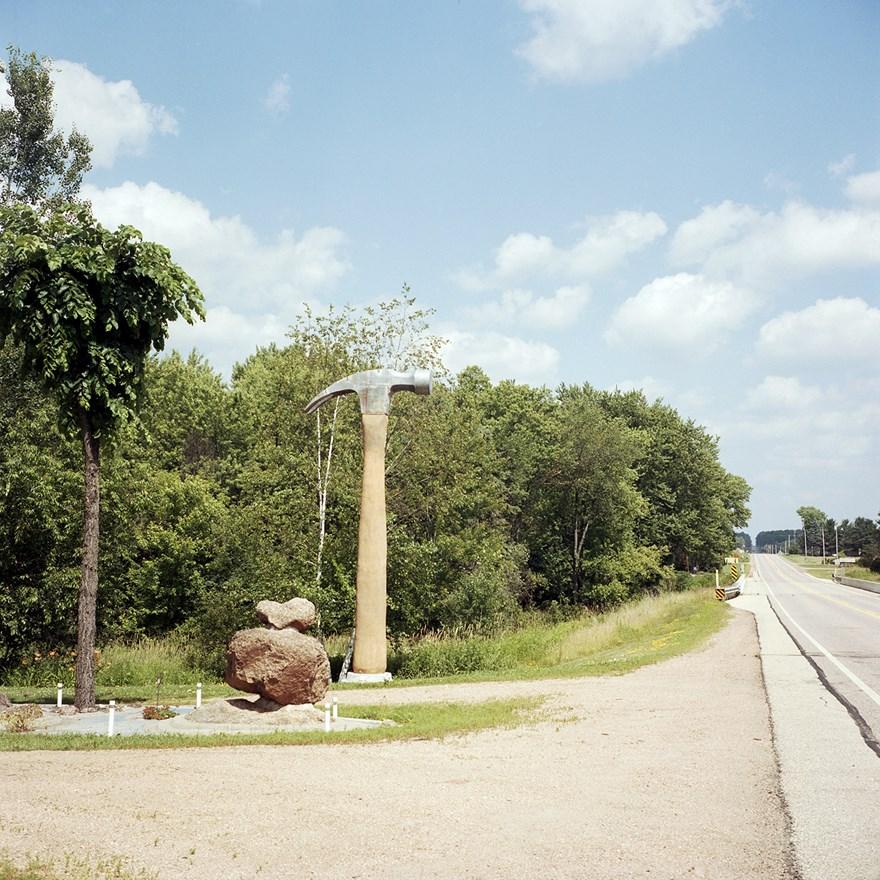 A Giant Hammer, Hogarty, Wisconsin, July 2015