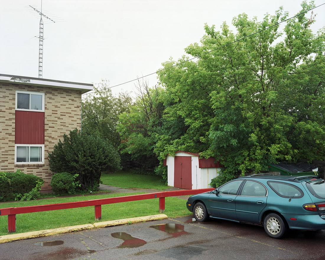 Parking Spot 8, Ashland, Wisconsin, July 2013