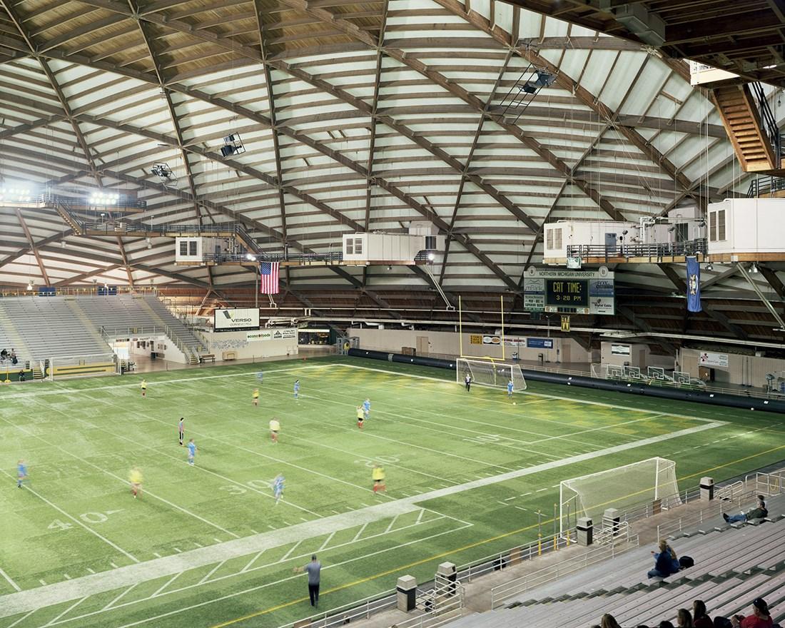 Superior Dome, Marquette, Michigan, March 2014
