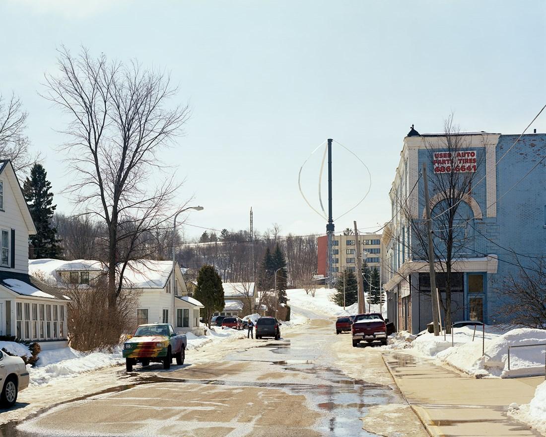 Wind Turbine, Ishpeming, Michigan, March 2014