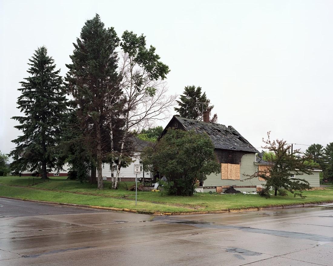 House Fire, Ashland, Wisconsin, July 2013