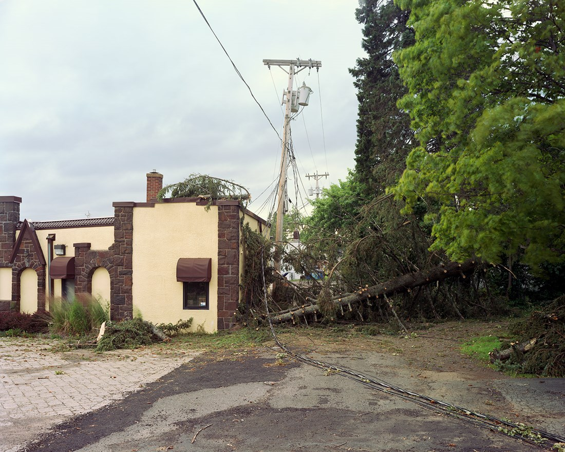 Wind Damage, Duluth, Minnesota, July 2016