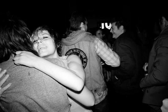 A Hug, May, 2012